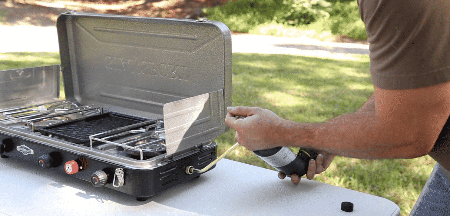 Stansport 2 Burner Propane Stove Review Survival Cooking
