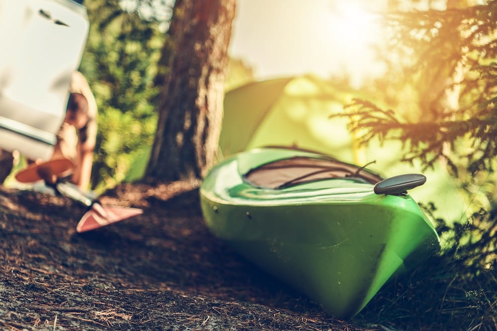 Best Kayak for Camping by Intex